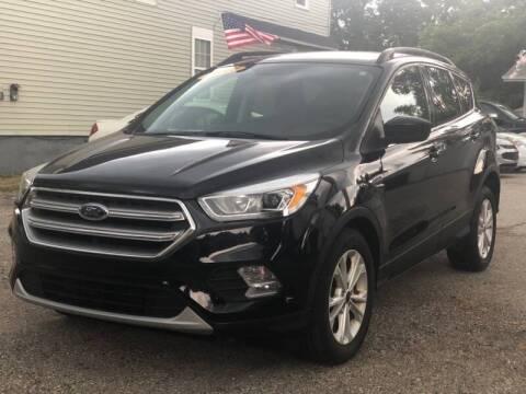 2017 Ford Escape for sale at 10TH AVENUE AUTO SALES LLC in Port Huron MI