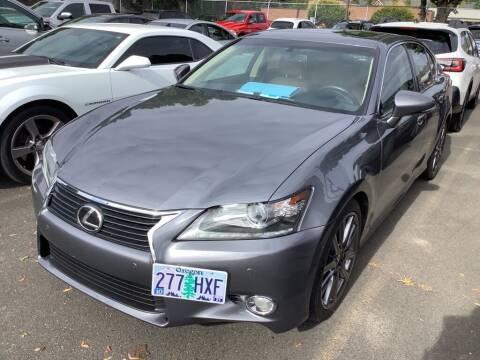 2013 Lexus GS 350 for sale at Royal Moore Custom Finance in Hillsboro OR