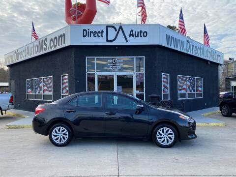 2019 Toyota Corolla for sale at Direct Auto in D'Iberville MS