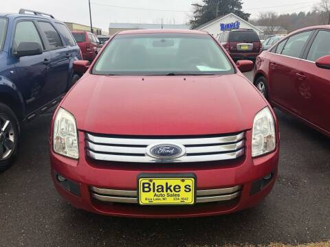 2009 Ford Fusion for sale at Blakes Auto Sales in Rice Lake WI