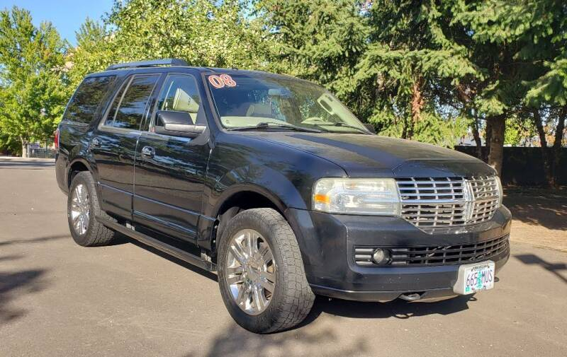 2008 Lincoln Navigator for sale at VIking Auto Sales LLC in Salem OR