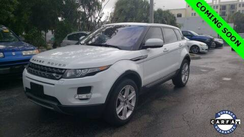 2013 Land Rover Range Rover Evoque for sale at LAKESIDE MOTORS, INC. in Sachse TX