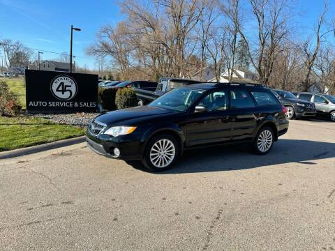 2009 Subaru Outback for sale at Station 45 Auto Sales Inc in Allendale MI