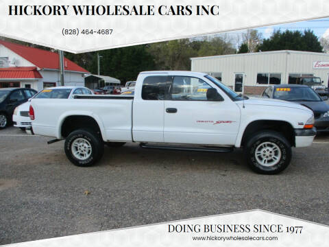 1997 Dodge Dakota for sale at Hickory Wholesale Cars Inc in Newton NC