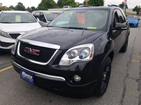 2009 GMC Acadia for sale at Howe's Auto Sales in Lowell MA