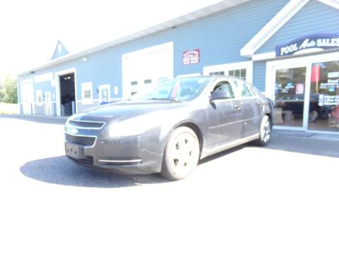 2010 Chevrolet Malibu for sale at Pool Auto Sales Inc in Spencerport NY