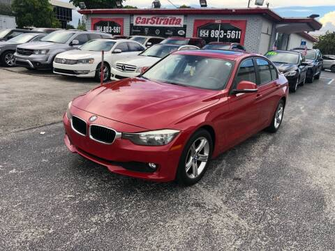 2014 BMW 3 Series for sale at CARSTRADA in Hollywood FL