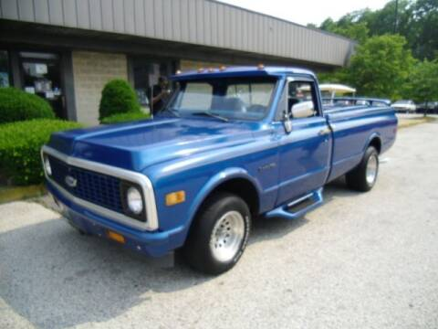 1972 Chevrolet C/K 10 Series for sale at Black Tie Classics in Stratford NJ