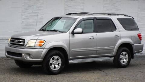 2001 Toyota Sequoia for sale at Kohmann Motors & Mowers in Minerva OH