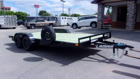 2019 LAMAR 18FT CAR HAULER for sale at PRIME RATE MOTORS in Sheridan WY