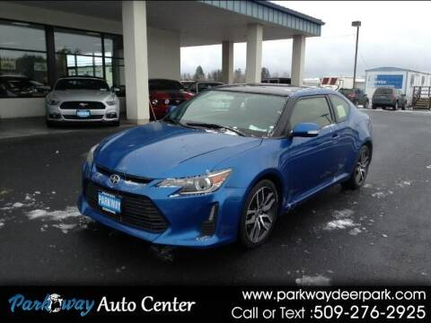 2015 Scion tC for sale at PARKWAY AUTO CENTER AND RV in Deer Park WA