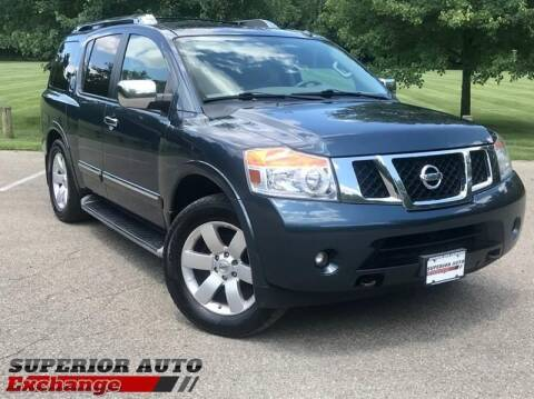 2014 Nissan Armada for sale at iAuto in Cincinnati OH