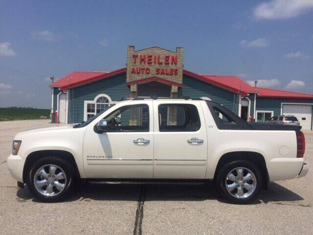2011 Chevrolet Avalanche for sale at THEILEN AUTO SALES in Clear Lake IA