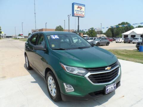 2018 Chevrolet Equinox for sale at America Auto Inc in South Sioux City NE