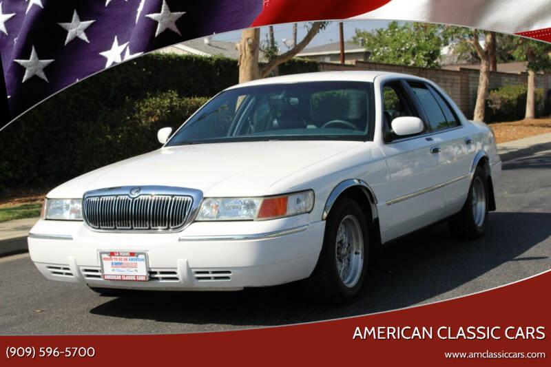 1998 Mercury Grand Marquis for sale at American Classic Cars in La Verne CA