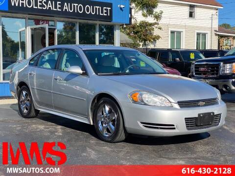 2010 Chevrolet Impala for sale at MWS Wholesale  Auto Outlet in Grand Rapids MI