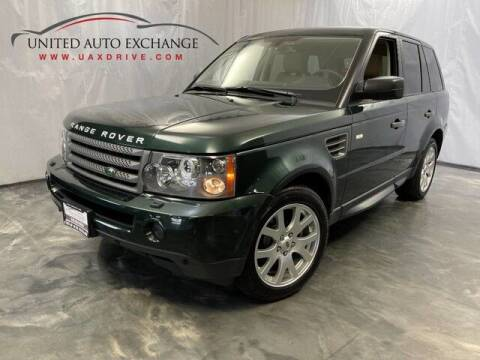 2009 Land Rover Range Rover Sport for sale at United Auto Exchange in Addison IL