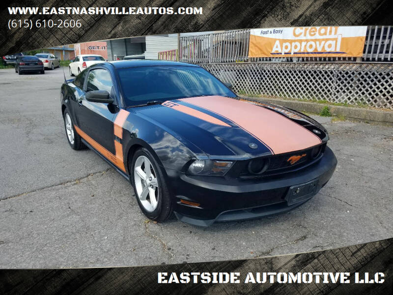 2010 Ford Mustang for sale at EASTSIDE AUTOMOTIVE LLC in Nashville TN