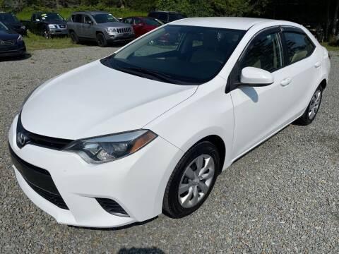 2015 Toyota Corolla for sale at Auto4sale Inc in Mount Pocono PA
