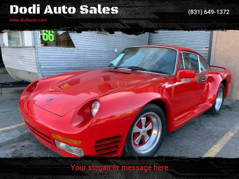 1977 Porsche 911 for sale at Dodi Auto Sales in Monterey CA