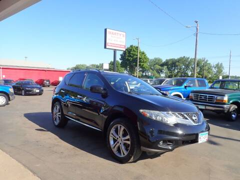 2011 Nissan Murano for sale at Marty's Auto Sales in Savage MN