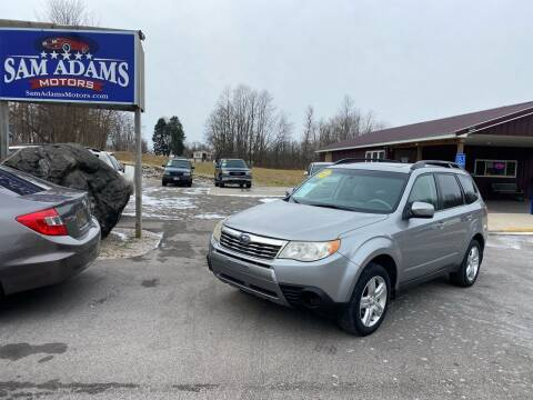 2009 Subaru Forester for sale at Sam Adams Motors in Cedar Springs MI