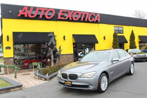 2010 BMW 7 Series for sale at Auto Exotica in Red Bank NJ