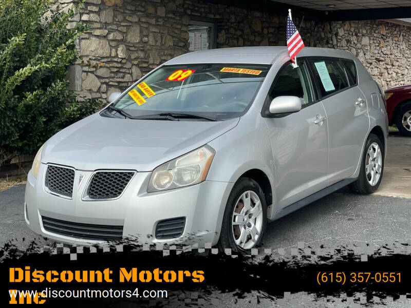 2009 Pontiac Vibe for sale at Discount Motors Inc in Old Hickory TN