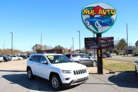 2014 Jeep Grand Cherokee for sale at MR AUTO in Elizabeth City NC