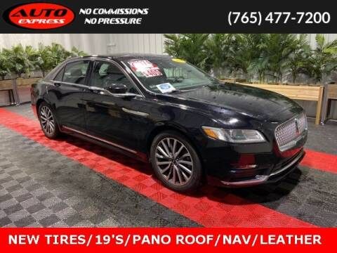 2017 Lincoln Continental for sale at Auto Express in Lafayette IN