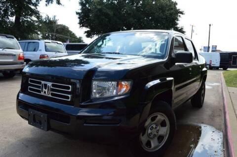 2008 Honda Ridgeline for sale at E-Auto Groups in Dallas TX