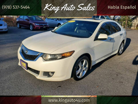 2010 Acura TSX for sale at King Auto Sales in Leominster MA