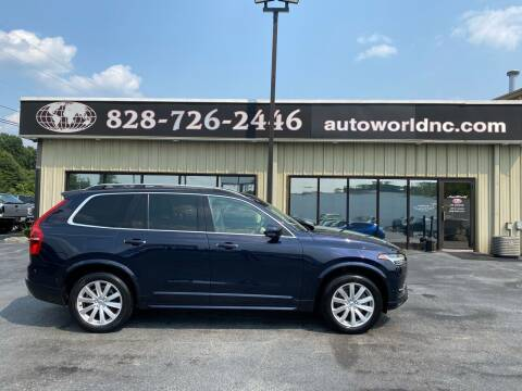 2016 Volvo XC90 for sale at AutoWorld of Lenoir in Lenoir NC