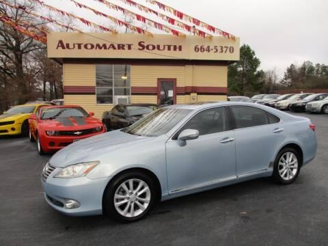 2011 Lexus ES 350 for sale at Automart South in Alabaster AL