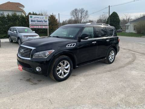 2011 Infiniti QX56 for sale at GREENFIELD AUTO SALES in Greenfield IA