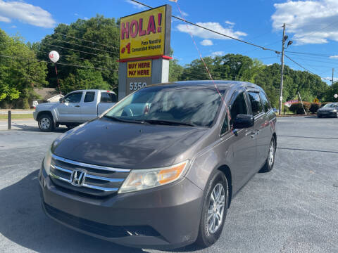 2012 Honda Odyssey for sale at No Full Coverage Auto Sales in Austell GA