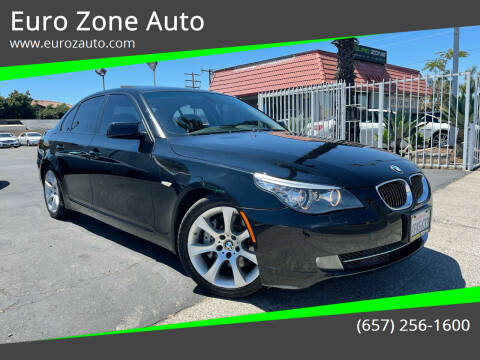 2008 BMW 5 Series for sale at Euro Zone Auto in Stanton CA