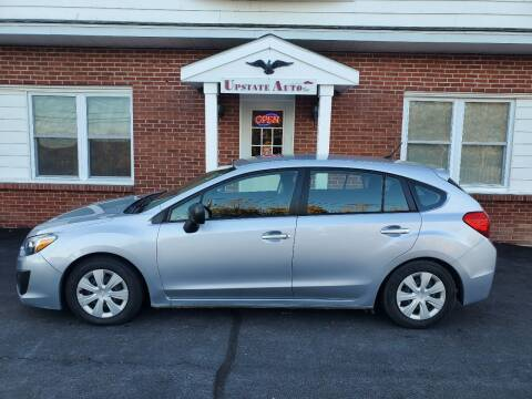 2014 Subaru Impreza for sale at UPSTATE AUTO INC in Germantown NY