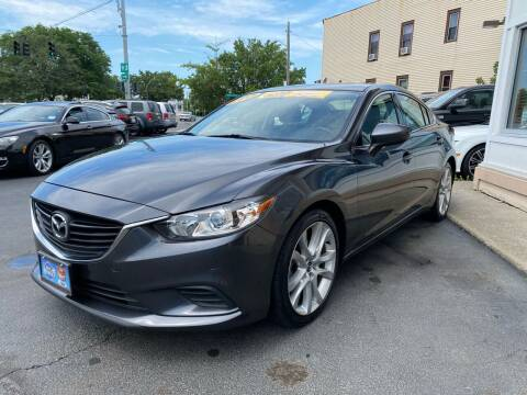 2015 Mazda MAZDA6 for sale at ADAM AUTO AGENCY in Rensselaer NY