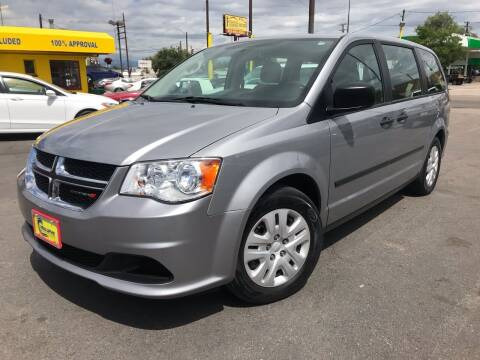 2013 Dodge Grand Caravan for sale at New Wave Auto Brokers & Sales in Denver CO