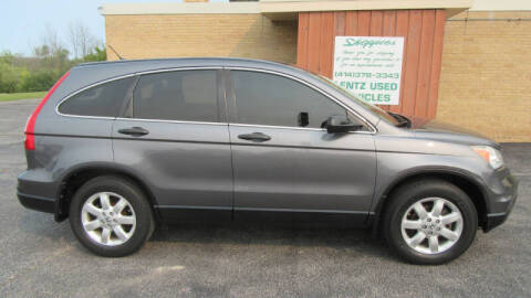 2011 Honda CR-V for sale at LENTZ USED VEHICLES INC in Waldo WI