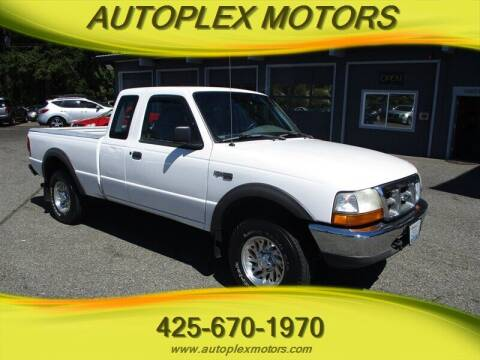1999 Ford Ranger for sale at Autoplex Motors in Lynnwood WA