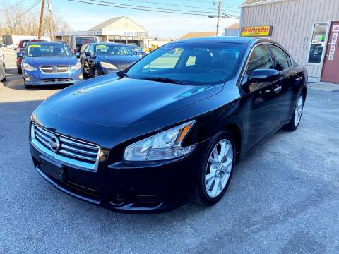 2014 Nissan Maxima for sale at Dijie Auto Sale and Service Co. in Johnston RI