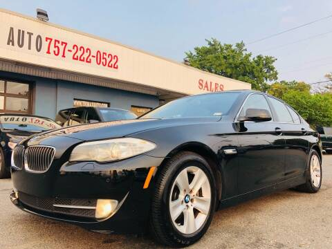 2013 BMW 5 Series for sale at Trimax Auto Group in Norfolk VA