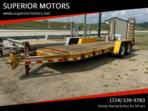 2012 Towmaster Trailer for sale at SUPERIOR MOTORS in Latrobe PA