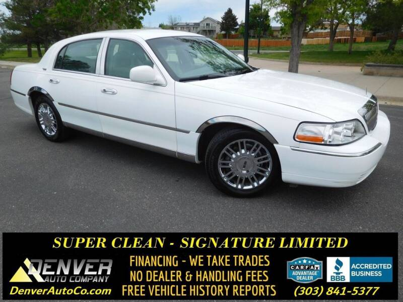 2009 Lincoln Town Car for sale in Parker, CO