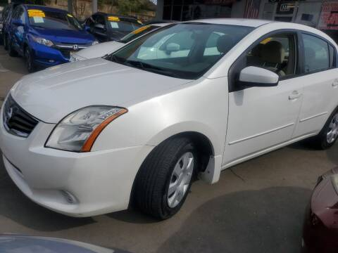 2012 Nissan Sentra for sale at ALL CREDIT AUTO SALES in San Jose CA