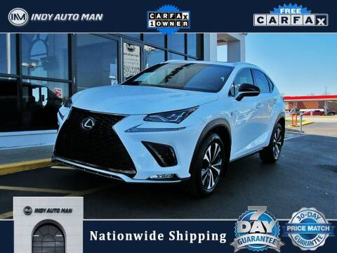 2018 Lexus NX 300 for sale at INDY AUTO MAN in Indianapolis IN