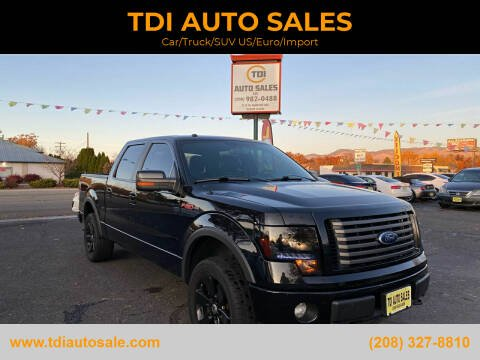 2011 Ford F-150 for sale at TDI AUTO SALES in Boise ID