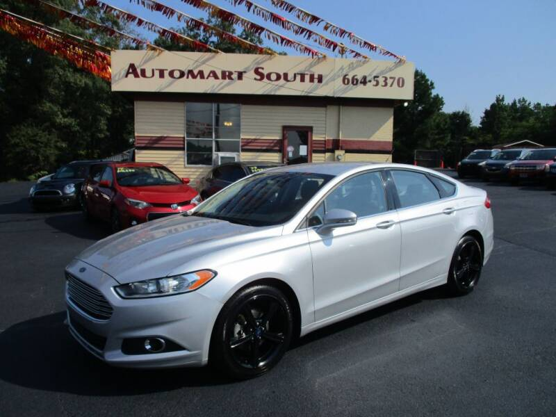 2016 Ford Fusion for sale at Automart South in Alabaster AL